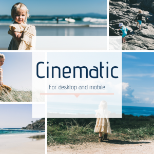 Cinematic Lightroom Preset Emily K Creative